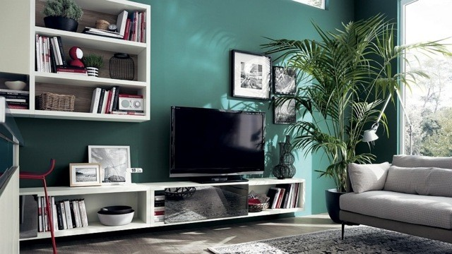 meuble salon modulabe bas TV
