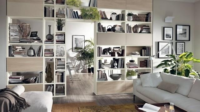 unité polyvalente séjour meuble ouvert