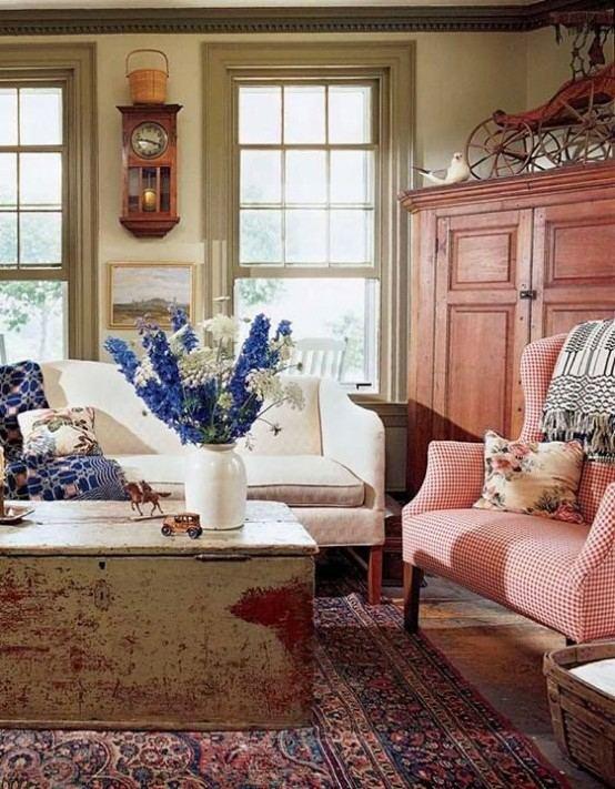 salon design canapé moderne table de salon originale et en bois déco printemps fleurs canapé blanc fauteuil coussin
