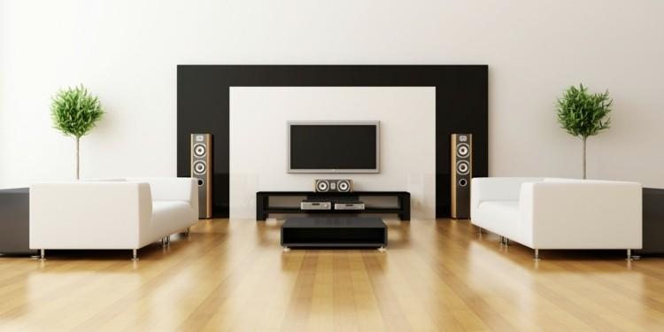 amenagement salon design minimaliste