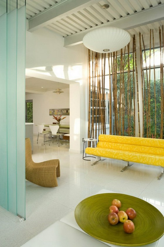 bambou deco salon idee design