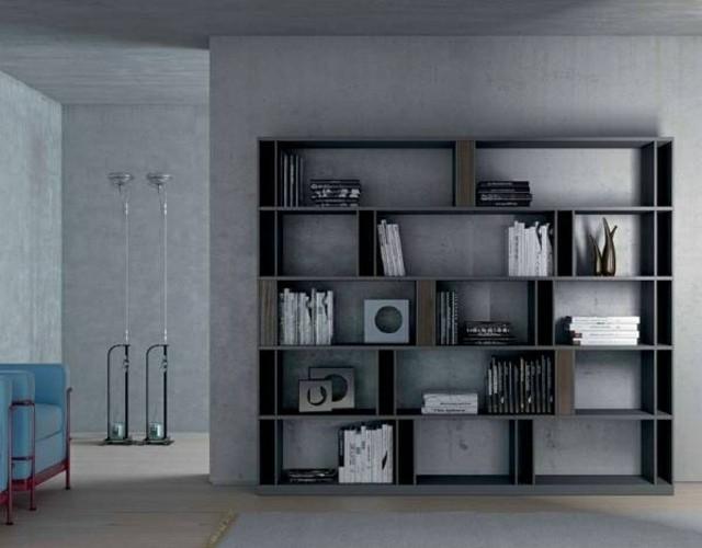 bibliothèque design Brera Emmebi