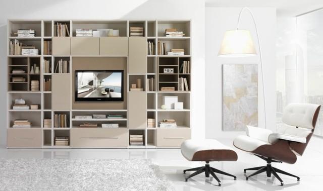bibliothèque meuble TV Farolfi