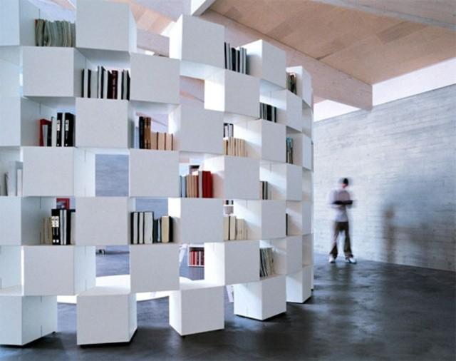 bibliothèque autoportante Net Lago