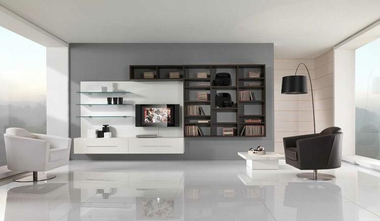 décoration intérieur salon moderne minimaliste