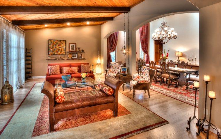deco design salon marocain