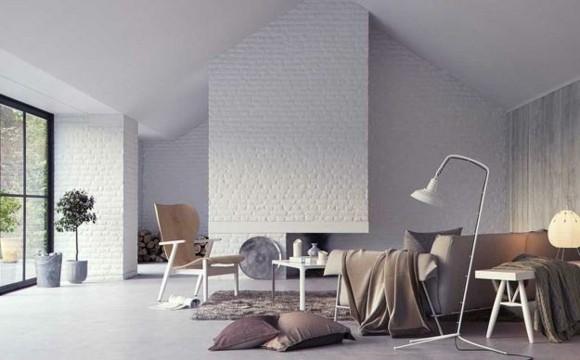 deco lumineuse salon moderne