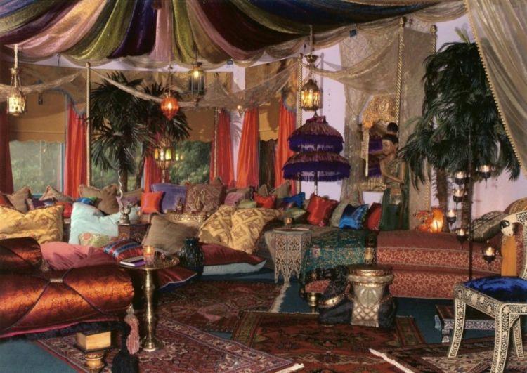 salon marocain déco exotique