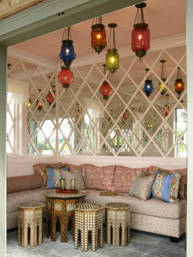 deco salon marocain tables basses