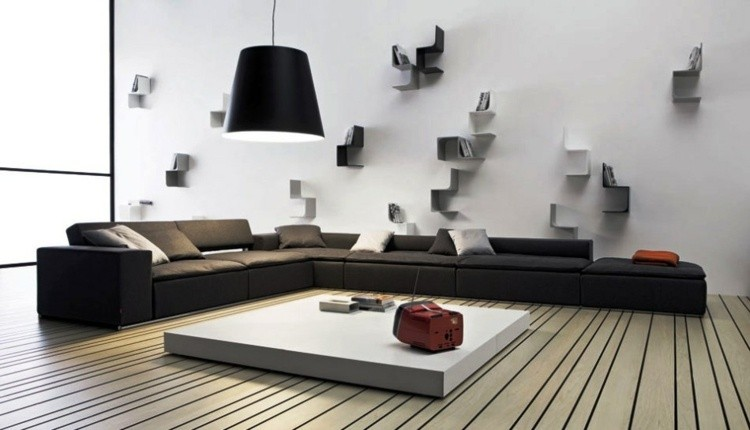 deco salon spacieux moderne