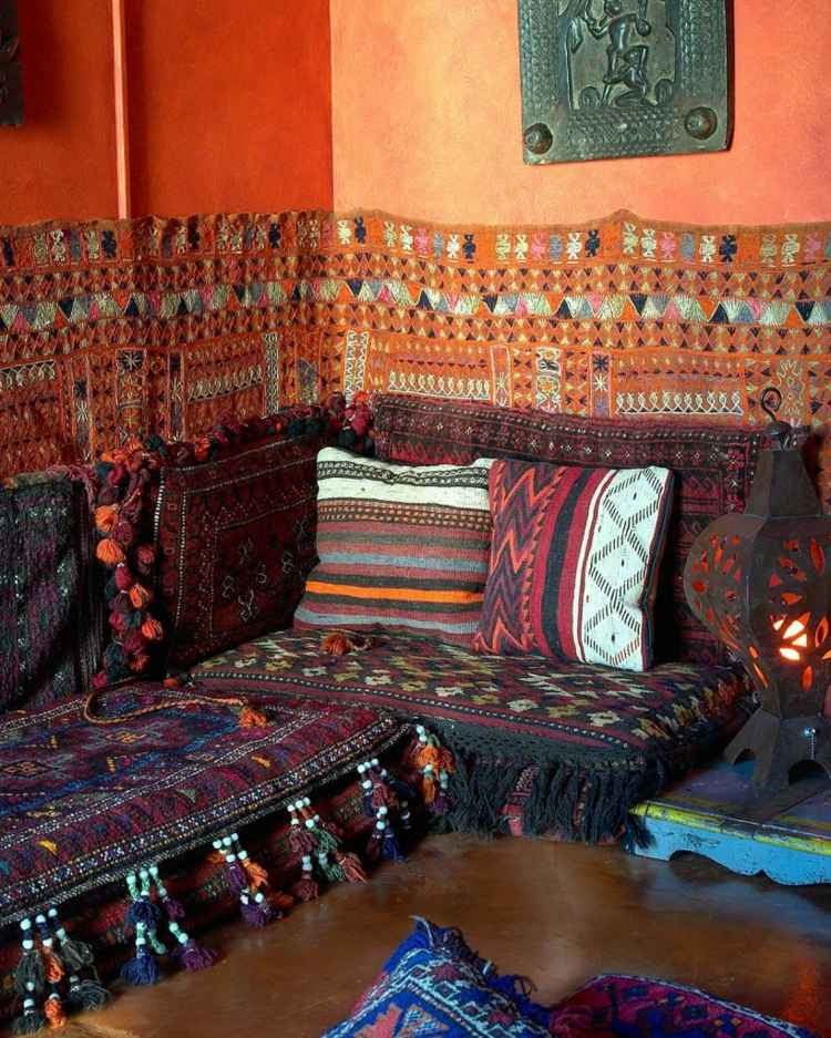 deco tapis marocains salon
