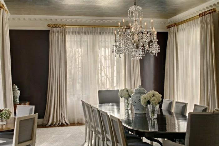 decoration interieur rideaux voilages