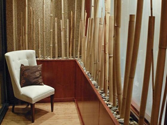 decoration interieure moderne bambou