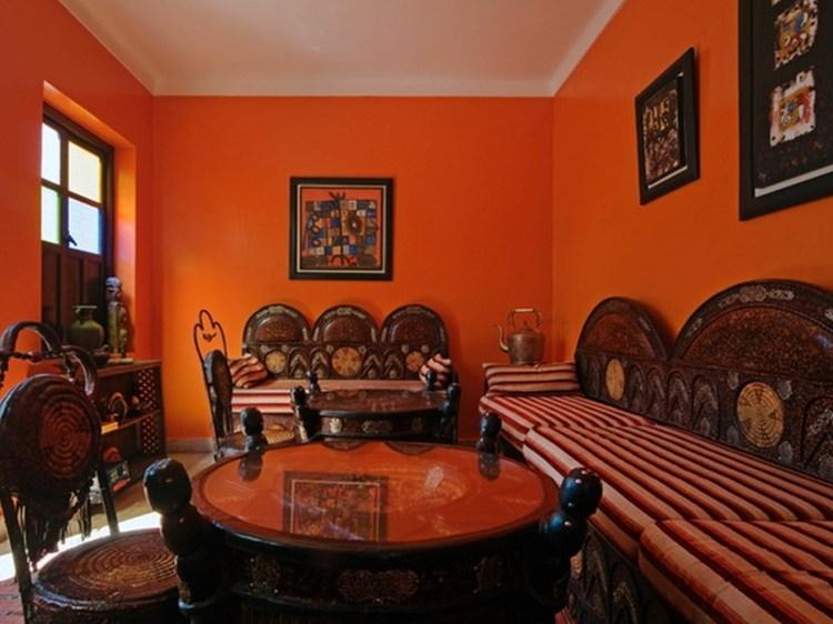 decoration marocaine salon moderne