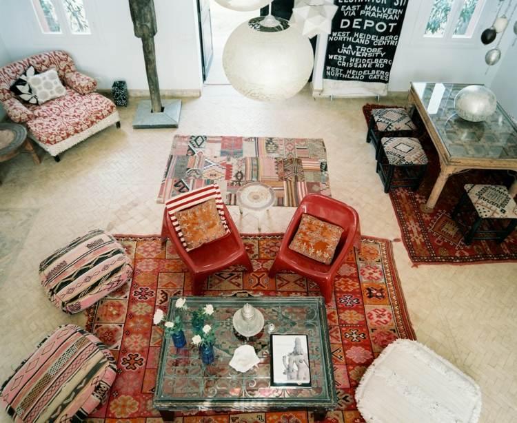 decoration salon marocain idee