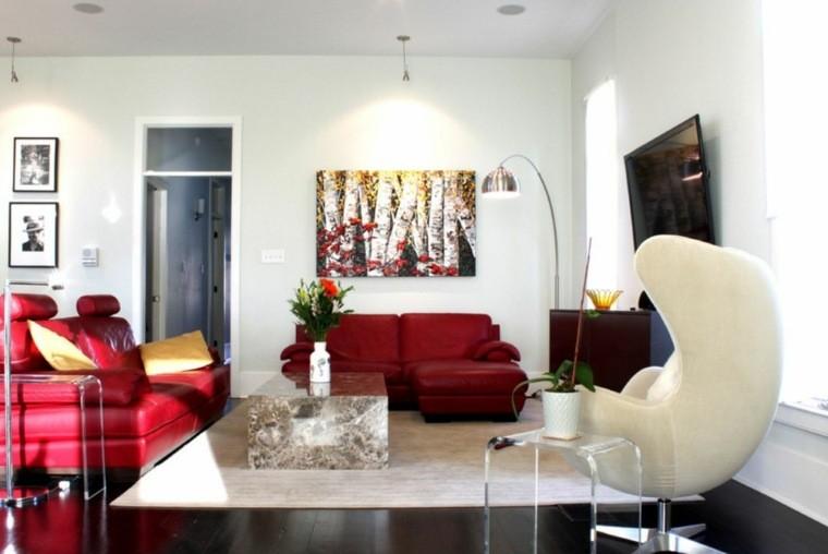 décoration salon interieur moderne canapé fauteuil design
