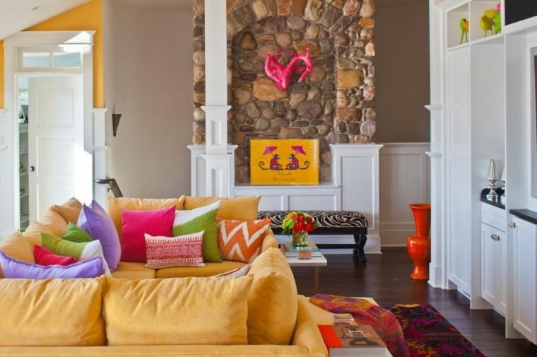 décoration salon couleur tendance salle de sejour
