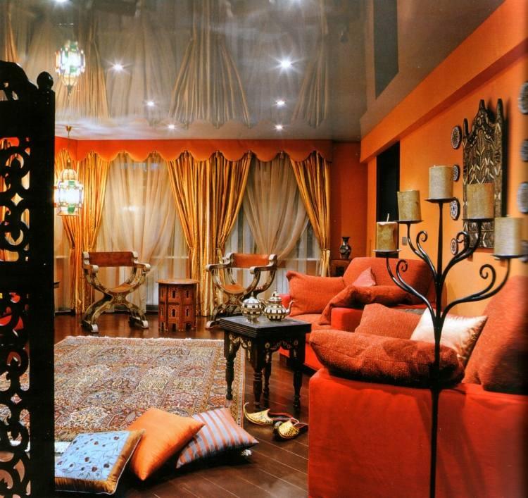design salon moderne marocain