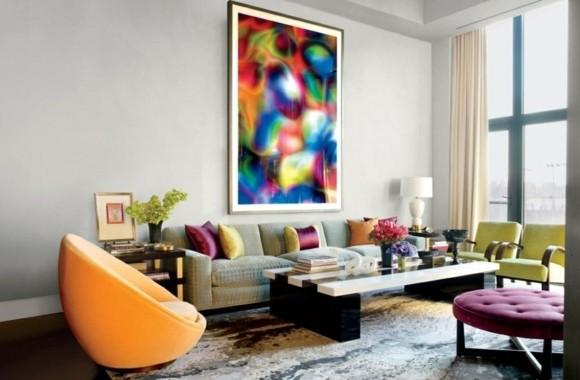 idée couleur salon design