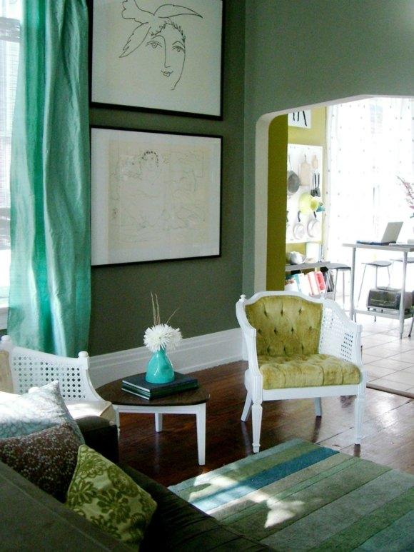 idée couleur salon moderne