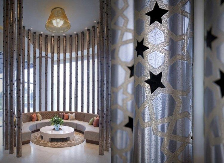 idee deco moderne salon marocain