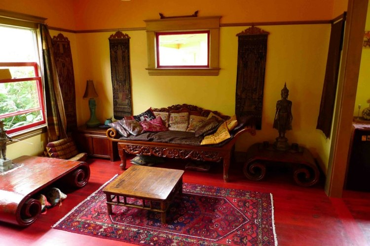 idee deco salon marocain