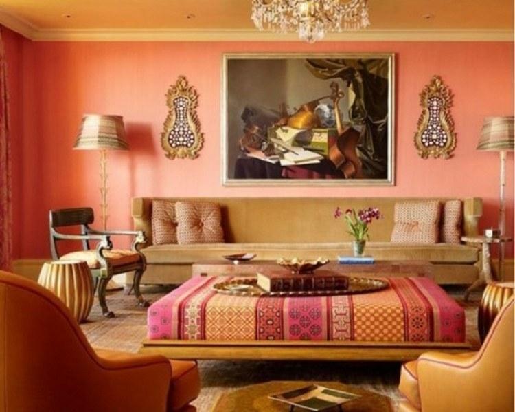 idee decoration salon marocain