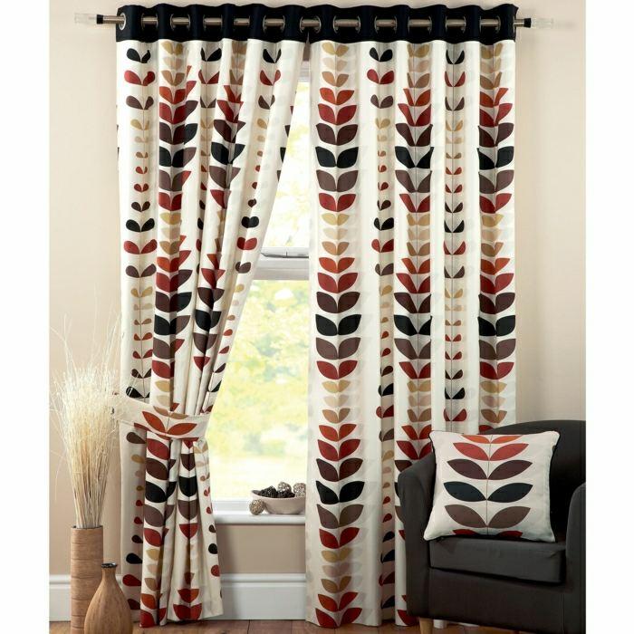 motifs originaux rideaux modernes