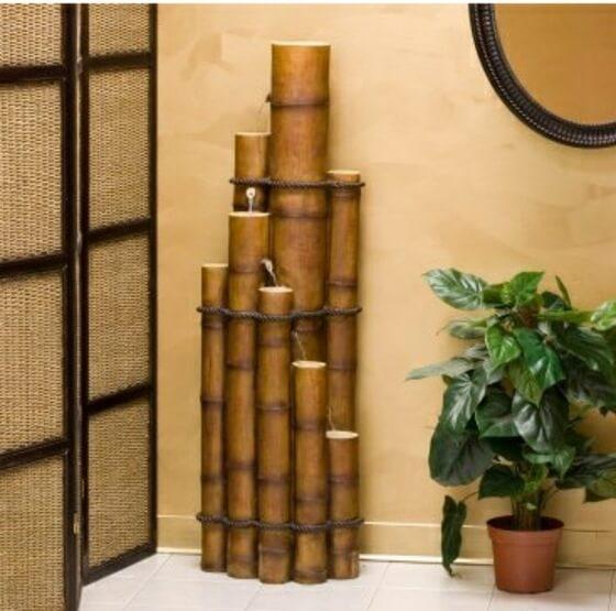 objet deco design bambou