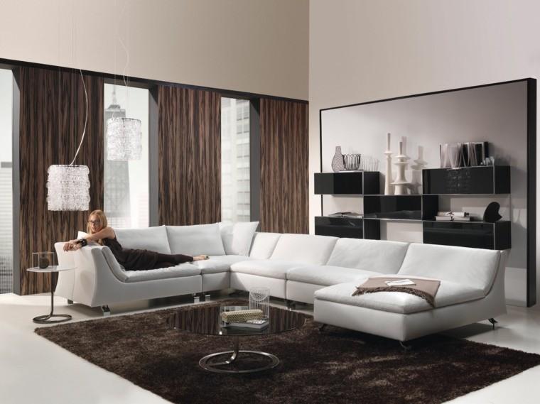 rideuax modernes salon design canapé