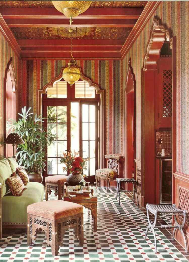 salon deco style marocain
