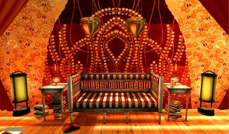salon design canapé marocain