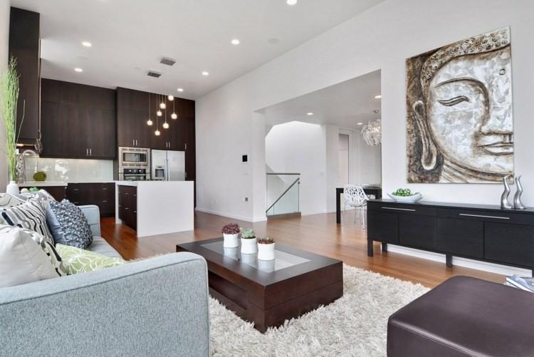 salon design inspiration zen minimaliste