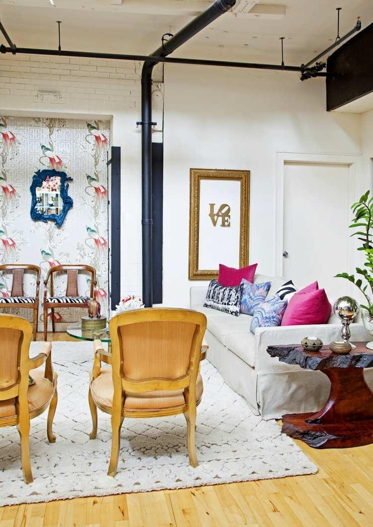 salon design moderne marocain
