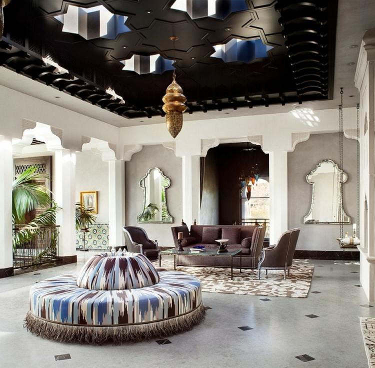 salon marocain design moderne
