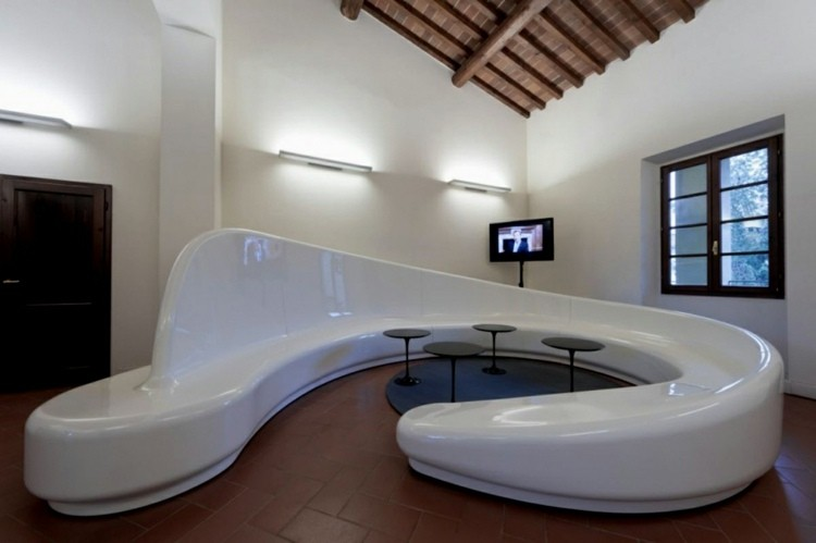 salon minimaliste canape design