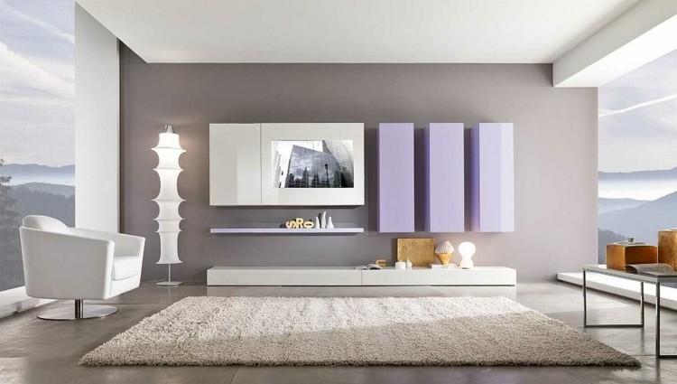 décoration intérieur salon blanc moderne