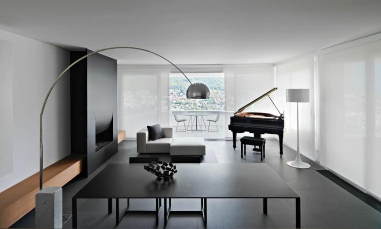 décoration salon salle à manger minimaliste