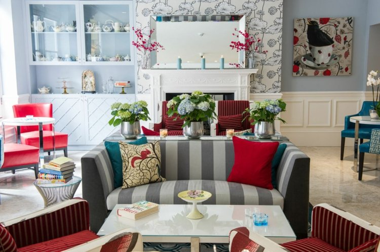 decoration salon victorien moderne