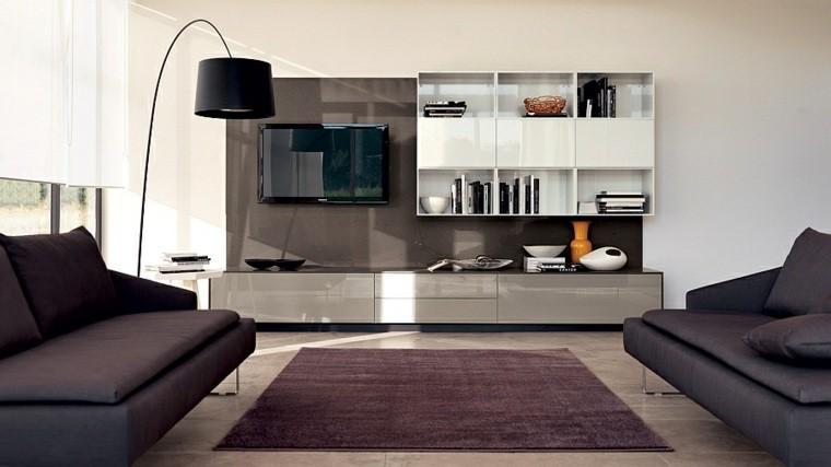 intérieur moderne canapé salon idée