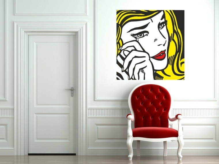 deco salon mur intérieur poster