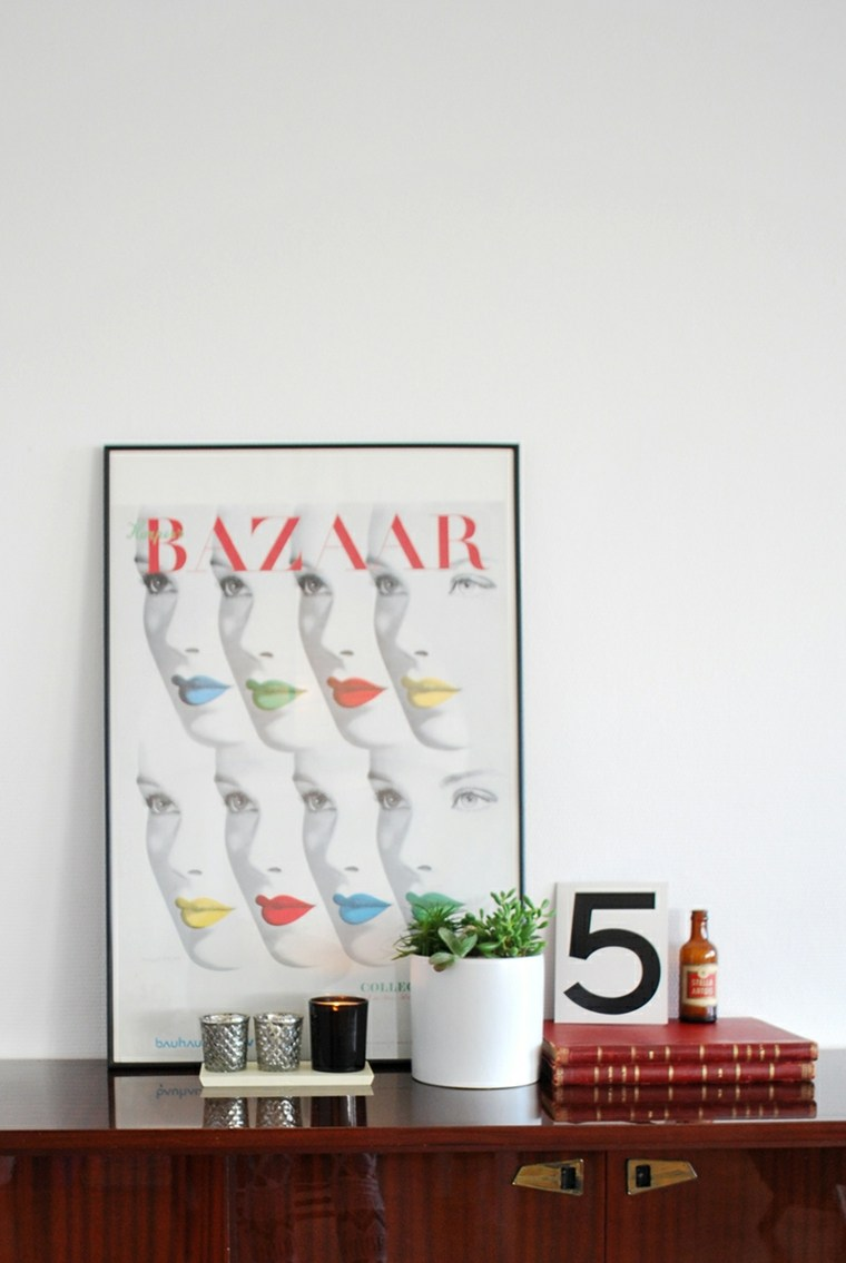 decorer salon mur poster