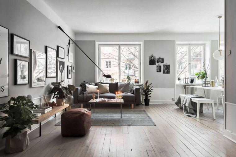 idée déco salon mobilier decoration scandinavе