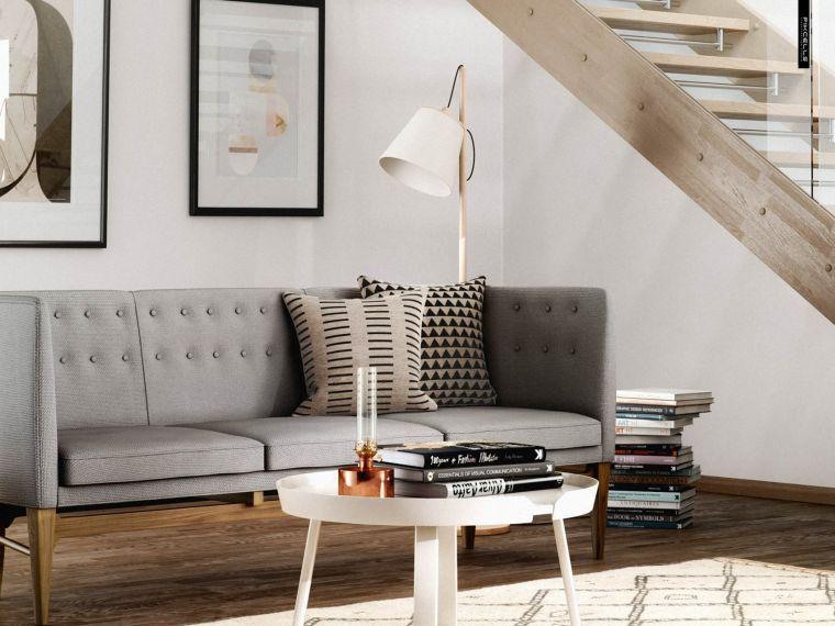 idée déco salon interieur design scandinave
