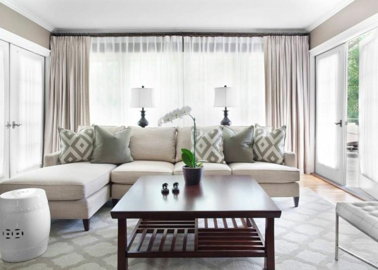 Déco salon gris et taupe pour un intérieur raffiné et très stylé