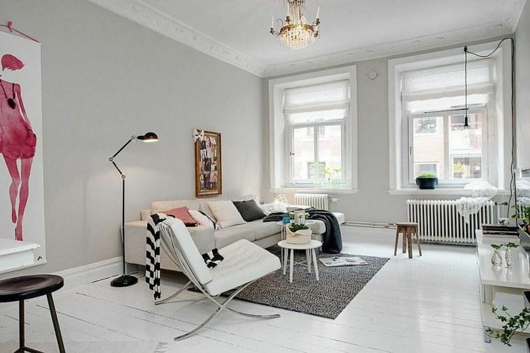 salons scandinave déco appartement aménagement intérieur