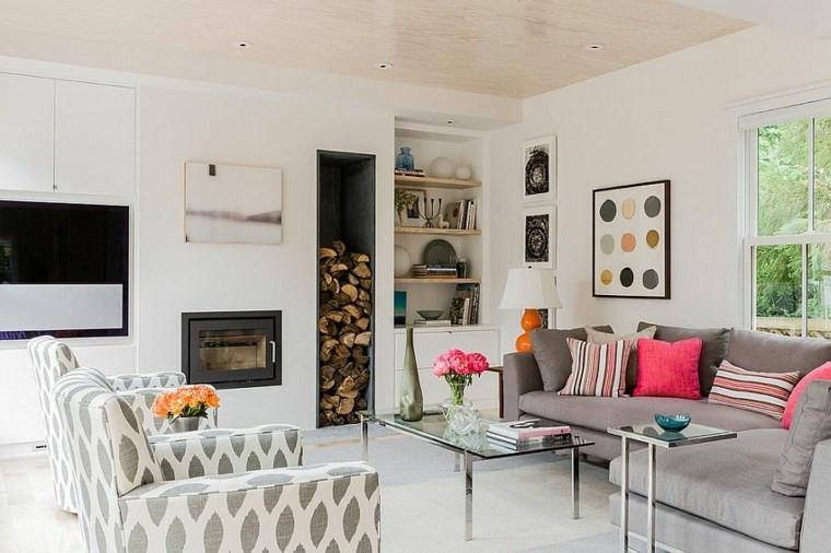 decoration intérieur salon design mobilier scandinave