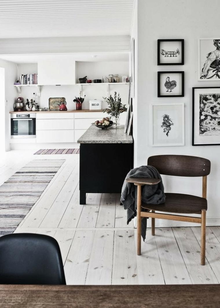 idees deco scandinave salon moderne