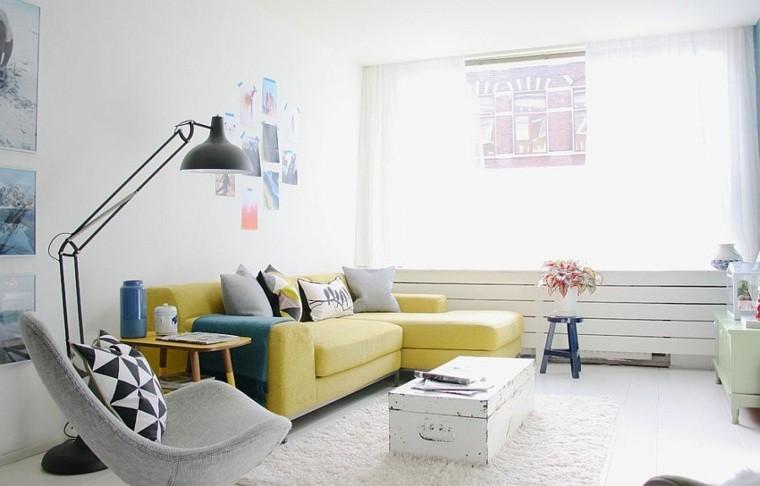 idee décoration salon intérieur chaise scandinave design tables