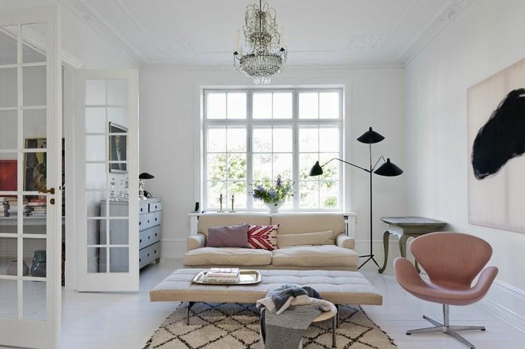idées aménagement salon chic intérieurs scandinaves